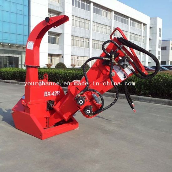 Hot Sale Tractor Mounted Type and Selfpower Type Wood Chipper with ISO Ce Certificate pictures & photos