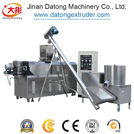 Crispy Chip Fried Wheat Flour Snack Food Making Machine pictures & photos