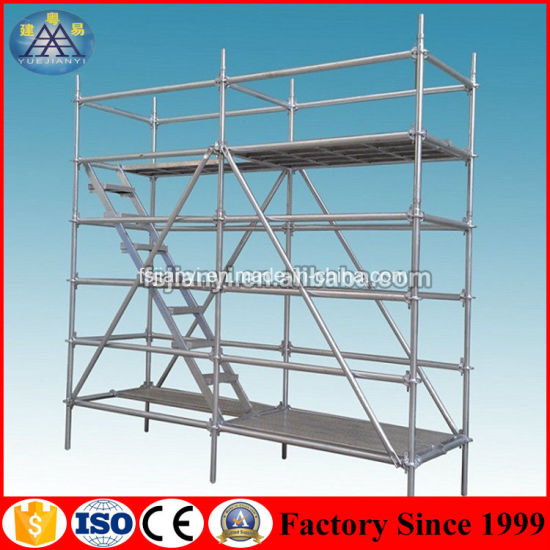 China Steel Ringlock Safe Construction Layher Scaffolding