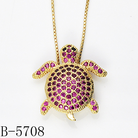 Wholesale Popular Fashion Jewelry 925 Sterling Silver Cubic Zirconia Pendant pictures & photos