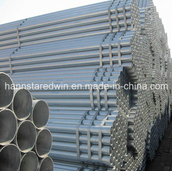 Construction Material Steel Pipe with Galvanized pictures & photos