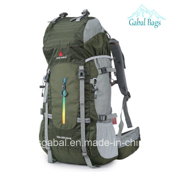Professional Outdoor Sports Climbing Trekking Travelling Pack Hiking Bag Backpack pictures & photos