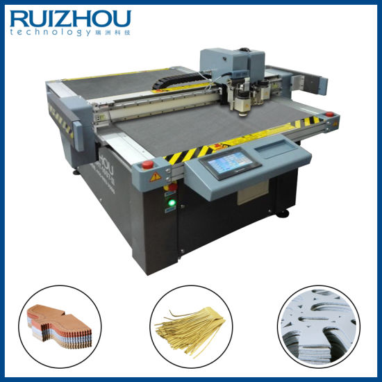 CNC Oscillating Knife Natural Leather Cutting Machine-2 pictures & photos