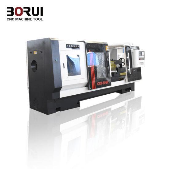 Cutting Metal CNC Lathe Machine Ck6185e Manufacturer Fanuc Control Automati pictures & photos