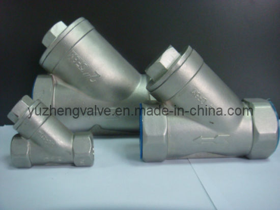 """1/4""""-2"""" Stainless Steel Y-Type Socket/Welding/Thread Strainer pictures & photos"""