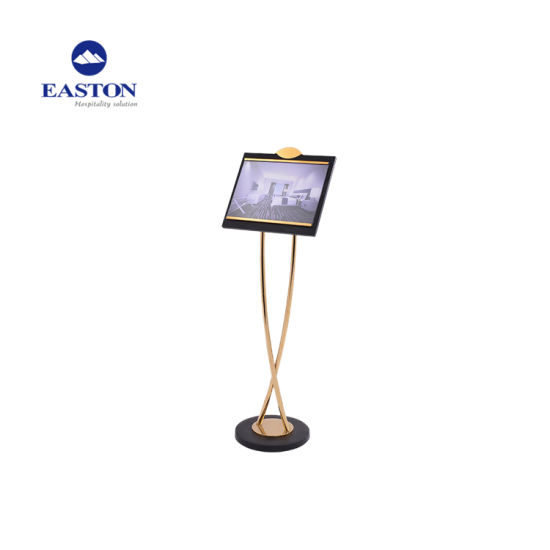 Hotel Golden Sign Stand pictures & photos
