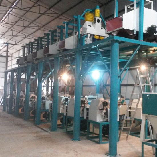 Wheat Flour Mills Supplier in Hebei China (80t) pictures & photos