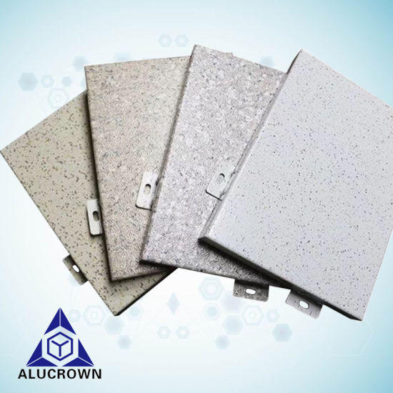 2018 Popular Aluminum Decorative Panels with Stone Color pictures & photos