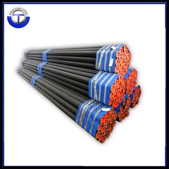 DIN17175 St35.8/St37/St52 Carbon Seamless Steel Pipe pictures & photos