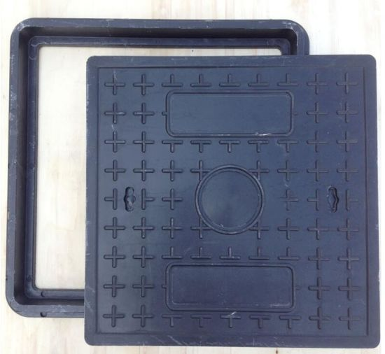 Polymer Resin Square Manhole Cover pictures & photos