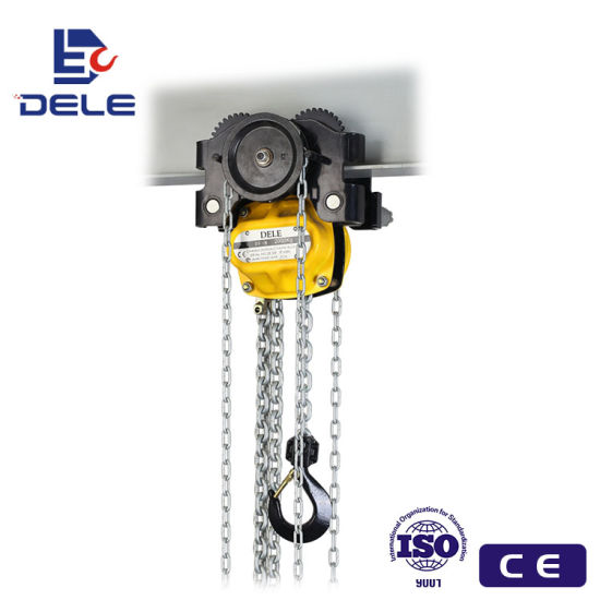 1ton Hand Pully Trolley with The Chain Hoist Gcl pictures & photos