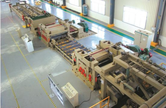 High Speed Ss Uncoiling-Leveling-Cut to Length pictures & photos