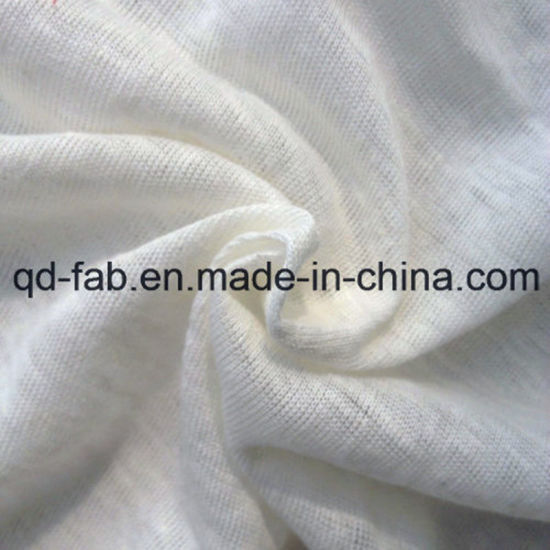100% Hemp Knithing Fabric for T Shirt (QF13-0353) pictures & photos