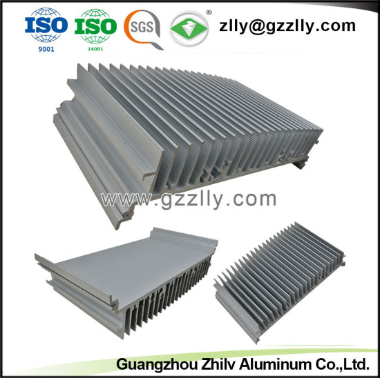 8000 Series Building Material Aluminum LED Heat Sink for Machinery pictures & photos