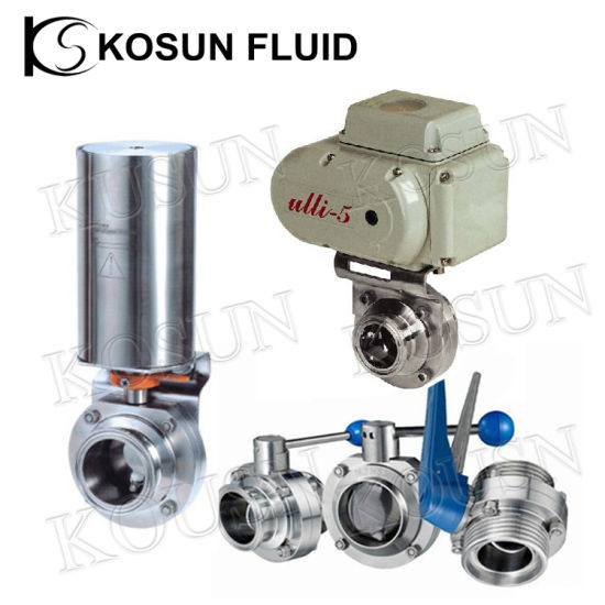 Stainless Steel Food Grade Valve pictures & photos