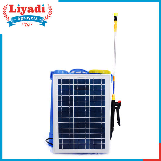 16L Solar Power Electric Battery Agricultural Pressure Knapsack Charged Sprayer pictures & photos