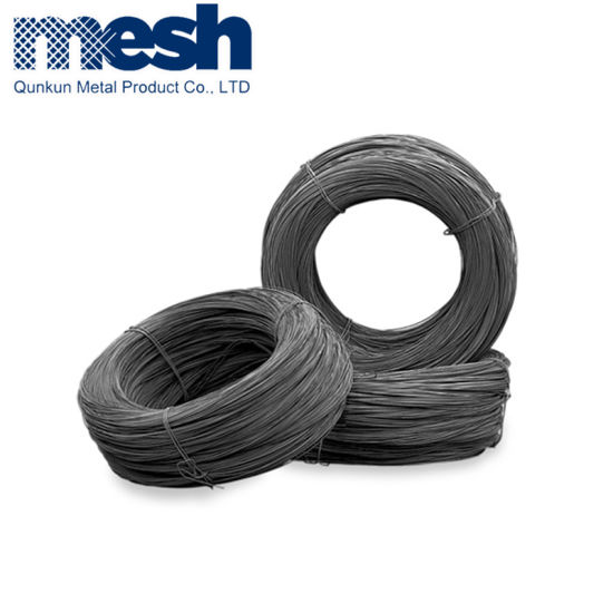 Factory Cheap Price Bwg20 Customized Length Black Annealed Wire Binding pictures & photos