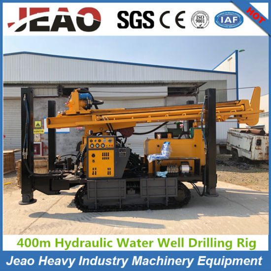 Popular in Kenya Drill 400m Deep Crawler Water Well Drilling Machine with Cheap Price pictures & photos