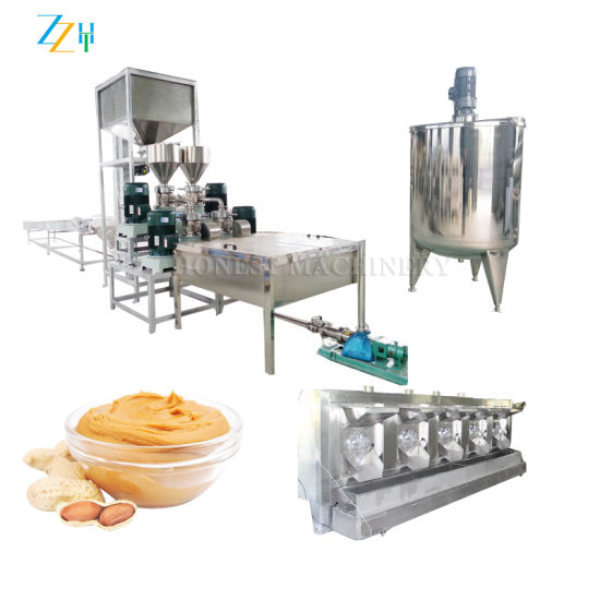High Quality Automatic Peanut Butter Production Line pictures & photos