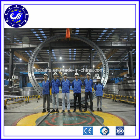 Machining China Supplier S355nl Z25 Wind Tower Flange pictures & photos