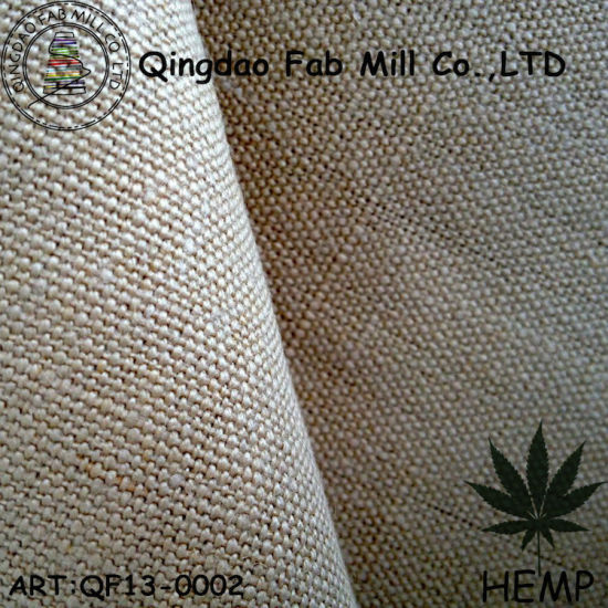 Hemp Canvas Fabric for Clothing and Bag (QF13-0002) pictures & photos