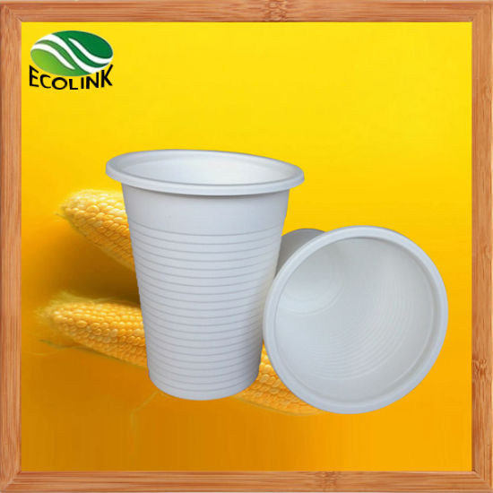 Custom 8oz 250ml Disposable Biodegradable Cup with Cornstarch pictures & photos
