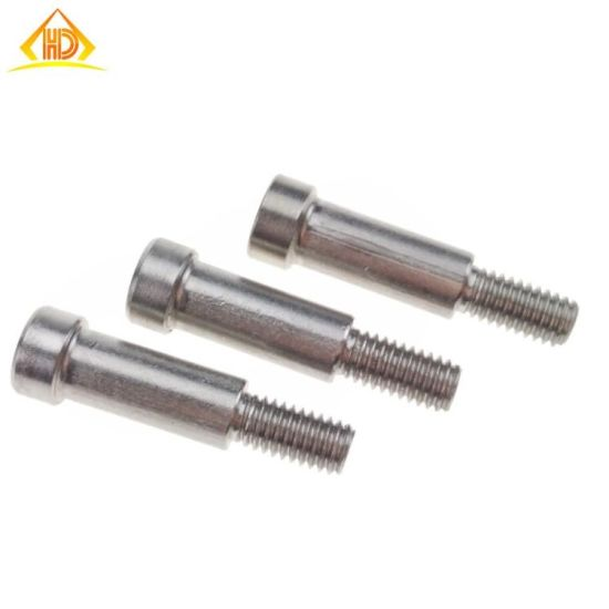 China Manufacturer Stainless Steel Hex Socket Head M6 Shoulder Screws pictures & photos