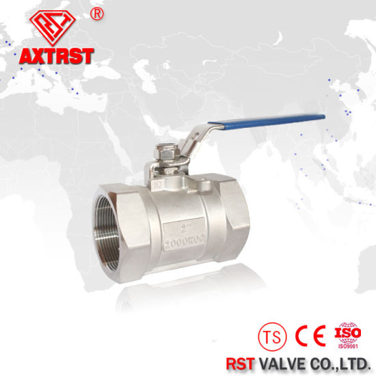Stainless Steel 2000 Wog 1PC Ball Valve pictures & photos
