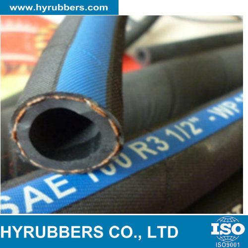 SAE 100 R3 / En 854 R3 - Two Textile Braid Hose pictures & photos