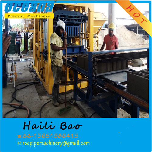Fully Automatic Cement Concrete Hollow Block/Brick Making Machine with Best Quality pictures & photos