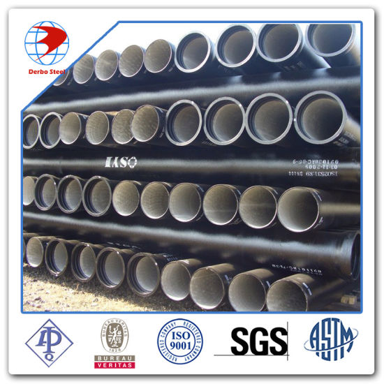 Dn350 6m ISO 2531 K9 Ductile Iron Pipe for Swage Water. pictures & photos