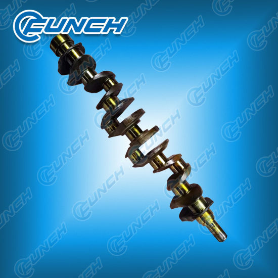 Crankshaft Hino Engine W04D/Em505 OEM Number 13411-1592-8 Holes pictures & photos