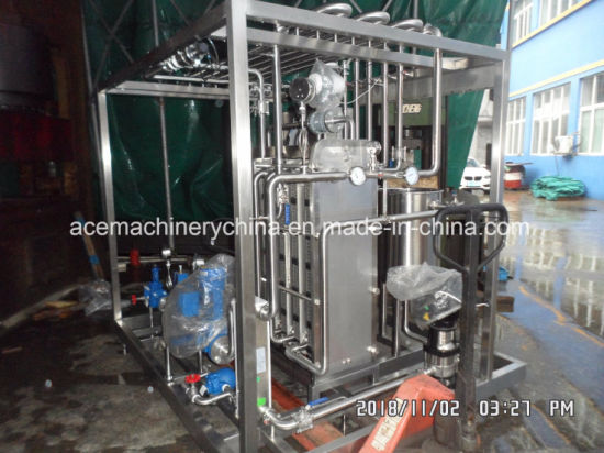 SUS304 Stainless Steel Food Pasteurizer Uht Milk Pasteurization pictures & photos