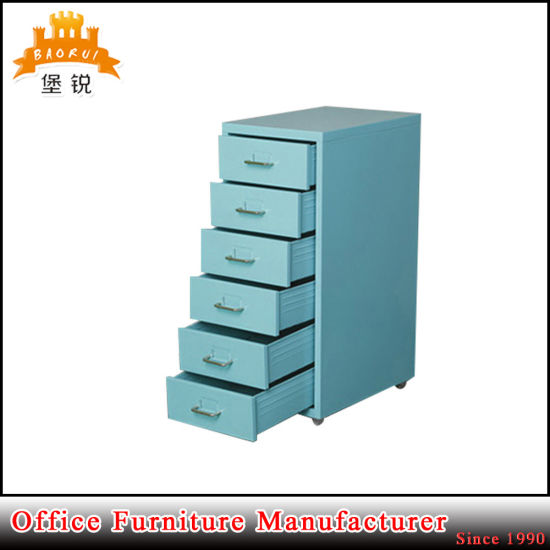Jas-117 Living Room Metal 6 Drawer Godrej Office Furniture Used File Cabinets Sale pictures & photos