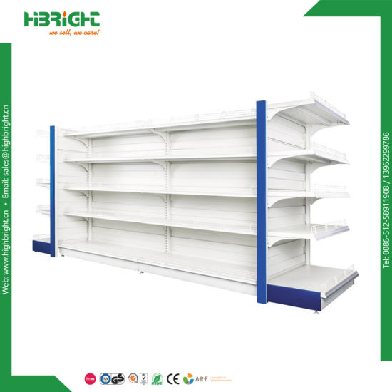 Retail Store Wood and Steel Display Shelving pictures & photos