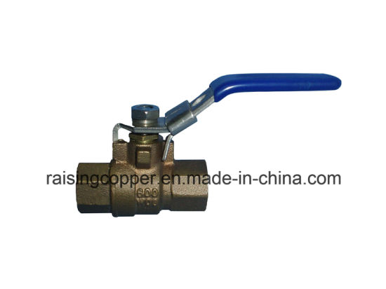 Full Port Bronze Ball Valve with Lockable Handle pictures & photos