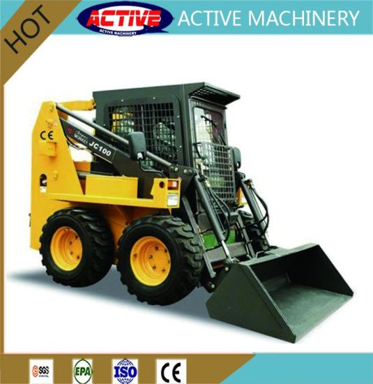 ACTIVE JC100 Skid Steer Loader with 100HP Engine and Factory Cheap Price pictures & photos