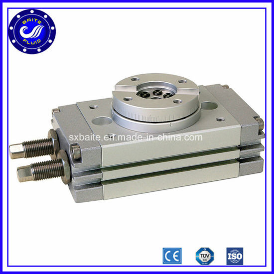 Double Acting Rotary Table Cylinder Pneumatic Rotary Cylinder pictures & photos