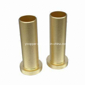 Precision CNC Brass Full Thread Bushing and Brass Full Thread Sleeve pictures & photos