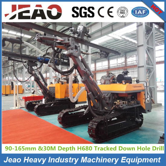 H680 Crawler Wagon Drilling Rig Machine (depth 30m, diameter 90-165mm) pictures & photos