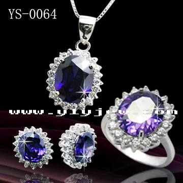 Fashion Jewellery Silver or Brass Personalized Jewelry Sets for Women pictures & photos