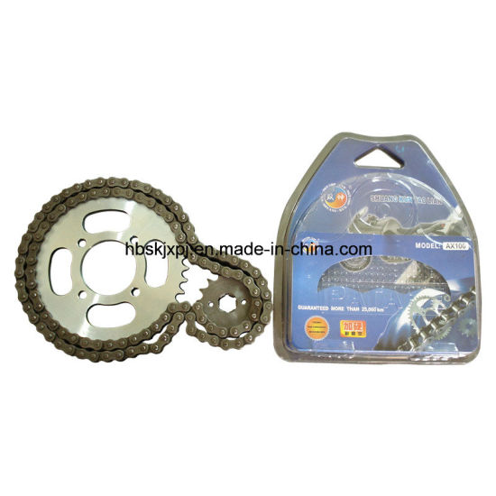 Best Quality Motorcycle Sprocket and Chain Kit pictures & photos