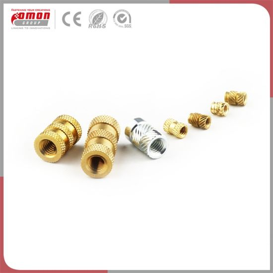 Wholesale Plastic Fasteners Brass Inserts Bolt Nuts pictures & photos