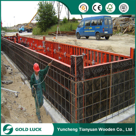 12mm 15mm Film Faced Concrete Plywood pictures & photos