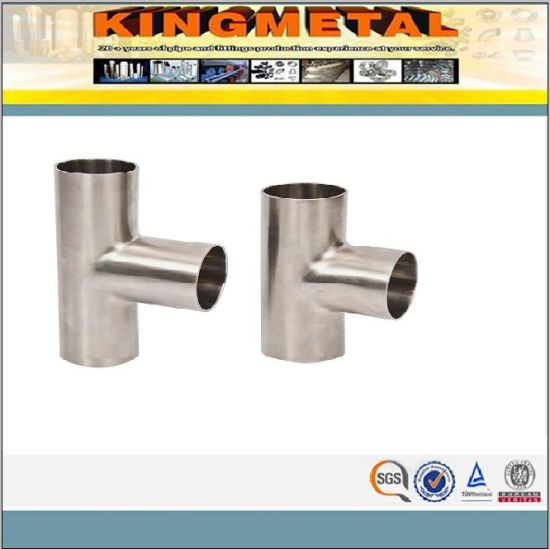 ASTM A403 Wp304L Pipe Fitting Stainless Steel Tee pictures & photos
