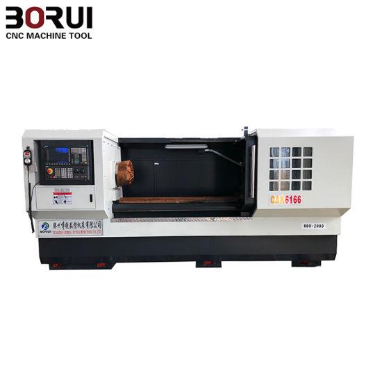 High Precision and Cheap Price Horizontal CNC Turning Machine (Cak6140 Cak6150 Cak6161 Cak6166 Cak6180) pictures & photos