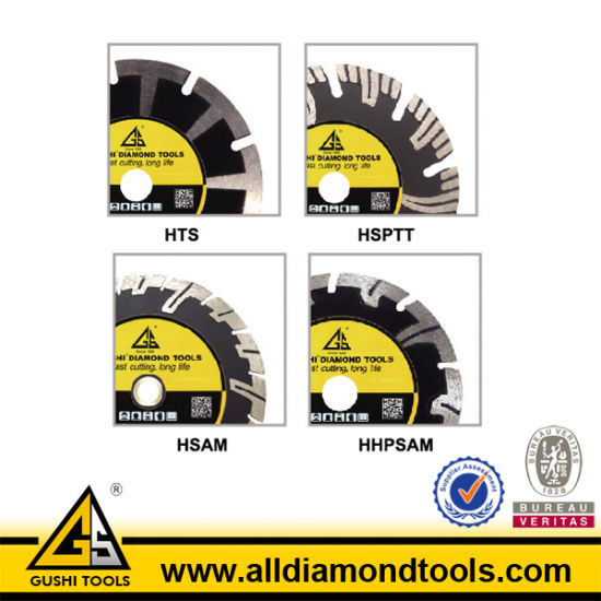 180mm Dry Use Diamond Saw Blade with T Segment pictures & photos