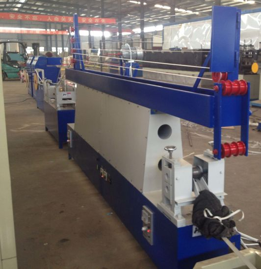 Economic Sandwiched Plastic PP Strapping Band Extruder Production Line pictures & photos