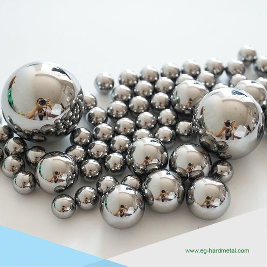 High Precision Hardness Alloy Titanium Ball / Tungsten Carbide Balls with Different Size pictures & photos