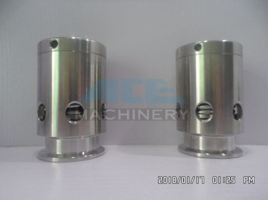 Stainless Steel Sanitary Hygienic Triclamp Tank Pressure Relief Vacuum Valves pictures & photos